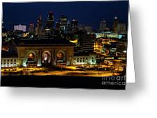 Union Station In Kansas City Greeting Card