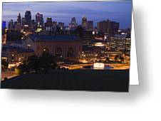 Union Station Kansas City Greeting Card