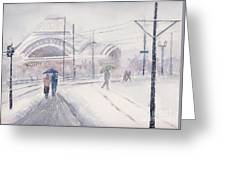 Union Station, Tacoma Greeting Card