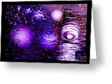 Unique Bubbles Greeting Card