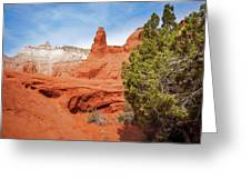 Unique Desert Beauty At Kodachrome Basin State Park Greeting Card