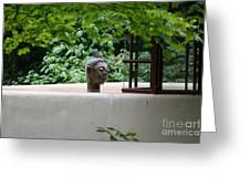 Unique View Fallingwater  Greeting Card