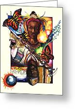 United Greeting Card by Anthony Burks Sr