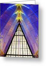 United States Air Force Academy Cadet Chapel 3 Greeting Card
