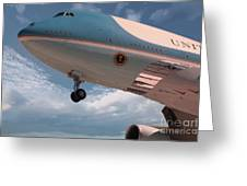 United States Air Force One Greeting Card
