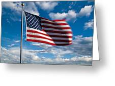 United States Of America Greeting Card by Steve Gadomski