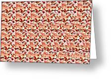 United We Win Stereogram Greeting Card