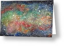 Universe Greeting Card