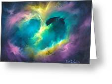 Universe Of The Heart Greeting Card