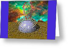 Universe Power Supply Greeting Card