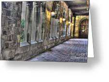 University Of Chicago Portico Greeting Card