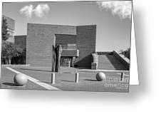 University Of Cincinnati Mary Emery Hall Greeting Card by University Icons