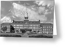 University Of Cincinnati Mc Micken Hall Greeting Card by University Icons