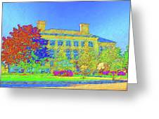 University Of Massachusetts Greeting Card