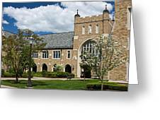 University Of Notre Dame Law School Greeting Card