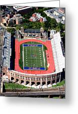 University Of Pennsylvania Franklin Field S 33rd Street Philadelphia Greeting Card by Duncan Pearson