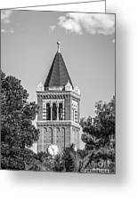 University Of Southern California Clock Tower Greeting Card by University Icons