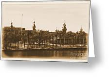 University Of Tampa - Old Postcard Framing Greeting Card
