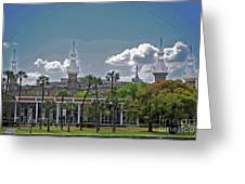 University Of Tampa Greeting Card
