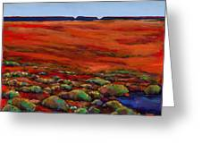 Unknown Plateau Greeting Card