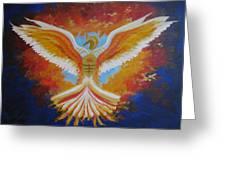 Unleashing The Holy Spirit Greeting Card