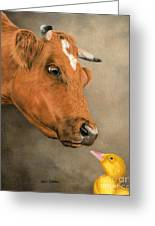 Friends Come In All Sizes Greeting Card