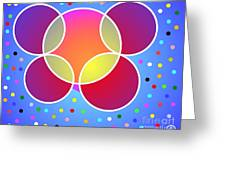 Unseen Energy Greeting Card