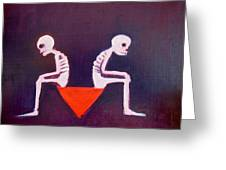 Until Death Do Us Part Greeting Card