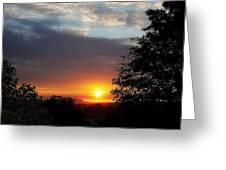 Until We Meet Again- Oregon Sunset Greeting Card
