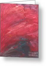 Untitled 105 Original Painting Greeting Card
