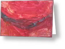 Untitled 106 Original Painting Greeting Card