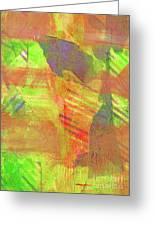 Untitled #13 Abstract Multicolor Greeting Card