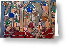 Untitled 83 Greeting Card