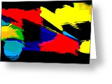Untitled Abstract 41 Greeting Card