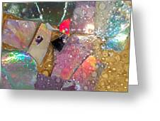 Untitled Abstract Prism Plates II Greeting Card