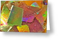 Untitled Abstract Prism Plates IIi Greeting Card