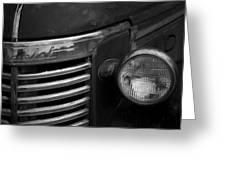 Untitled Classic Car Greeting Card
