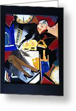 Untitled-collage Painting Greeting Card