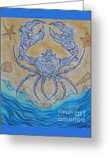 untitled Crab Greeting Card