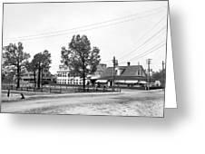Wilcox Hotel In Aiken Greeting Card