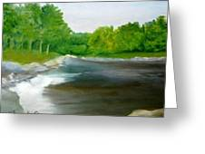 Untitled Plein Aire Greeting Card