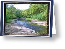 Up A Creek Greeting Card