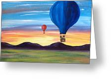 Up And Away Greeting Card