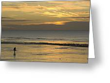 Up At First Light Greeting Card by Malc McHugh