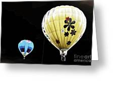 Up On The Air Greeting Card