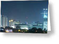 Up Town Cebu City Lights Greeting Card