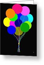 Upbeat Balloons Greeting Card