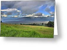 Upcountry Maui Greeting Card