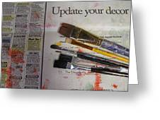 Update Your Decor Greeting Card