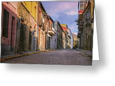 Uphill In Avila Greeting Card
